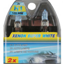 Car light h1 12 volt 55w xenon blue super white se