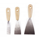 Filling knife set 3 pieces blister card