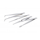 wholesale Drugstore & Beauty: Tweezers 4 pieces blister card