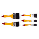 wholesale Painting Supplies: Paintbrush set 5 pieces flat