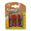grossiste Batteries et piles: Batterie  rechargeable 800 mah 4 pc