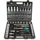 Socket set 94 pieces cr-v luxury satin