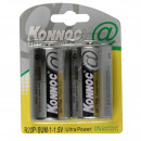 wholesale Batteries & Accumulators: Battery monocell 2 pieces r20c konnoc