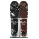 wholesale Fashion & Apparel: Shoe polish set 2 pieces black + brown