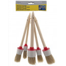 wholesale Painting Supplies: Paintbrush set 5 pieces round etui