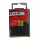 Hardware steel nails 2.0 x 30 mm black