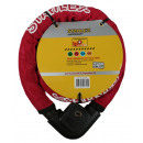 Armored lock stahlex 217 22 x 1000 red