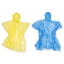 Poncho disposable transparent
