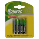 groothandel Batterijen & accu's: Batterij mini  penlite opladen 800 mah 4 stuk