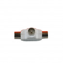 Coax splitter t plastic male wr007-1