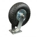 Swivel castor + air tyre 3.00-4