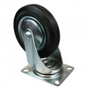 Swivel castor 160 mm