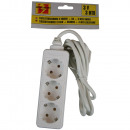 wholesale Electrical Installation: Extension socket 3  watt + earth + 3.0 m bellson