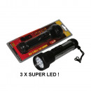 wholesale Flashlights:Torch super 3 x led