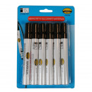 wholesale Gifts & Stationery: Marking pen 6 pieces black