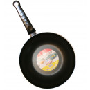 Wok 28 cm alu double non-stick coating