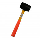 Hammer rubber fibre handle 16 oz yellow/ or.