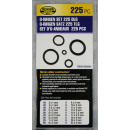 O-ring set 225 pieces box blister card