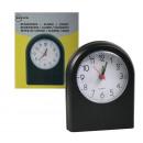 groothandel Klokken & wekkers: Reiswekker + Alarm Analoog / Zwart