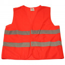 Traffic safety vest orange en471 / en iso 20471