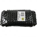 Rope mooring-rope 16 x 15 m black benson