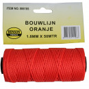 Construction rope orange benson 1.8 x 50 m