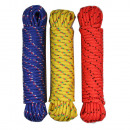 Rope colour 6 mm x 10 m gl/or/blue benson