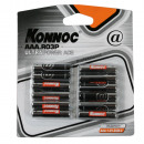 Battery mini penlite 12 pieces r3 aaa konnoc
