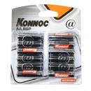 groothandel Batterijen & accu's: Batterijpenlite 12 stuks r6p aa KONNOC