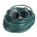Extension lead 20 m green bellson