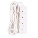 Extension socket 4 wattos + 5,0 m 2x1 BELLSON