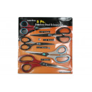 Scissor set 5 pieces blister card