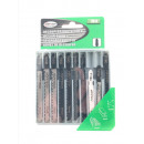 wholesale Small Parts & Accessories: Jigsaw blades 10 pieces bosch / profi
