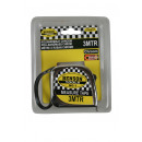 Measuring tape chrome 3m x 16 mm