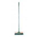 groothandel Tuin & Doe het zelf: Straatbezem groen + handvat erin Display