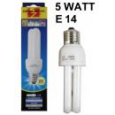 grossiste Ampoules: Ampoule à économie  d'énergie 2u e14 blanc chau