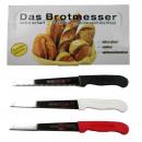 ingrosso Alimentari & beni di consumo: Coltello da pane mix -solingen- / Espositore