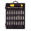 Screwdriver precision 32 pieces / pl case