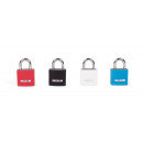 wholesale Toys: Padlock aluminium 20 mm blister card/mixed color