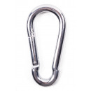 wholesale Toys: Carabine hook 9.5 mm 3/8' blister card