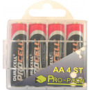Duracell plus aa 4 pieces pro-pack