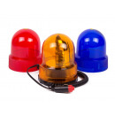 Revolving spotlight set 12 volt red/blue/orange