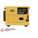 Generator 5000 watt duo 220/380v digital diesel