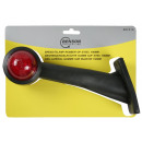 Marker lamp rubber handle 45° 190 mm r/w e-mark