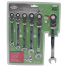 wholesale Small Parts & Accessories: Combination  ratchet 6 pieces chr volt 8 to 17