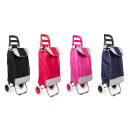wholesale Bags & Travel accessories: Shopping trolley fun color 96*34*27 cm