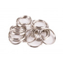 wholesale Keychains: Key rings 20 pieces metal