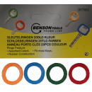 Großhandel Geschenkartikel & Papeterie: Schlüsselanhänger 20 Stück Farbe