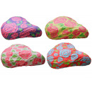 Saddle cover funky roses