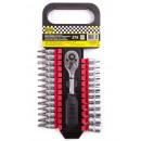 Socket wrench set 27 pieces cr-v promotional